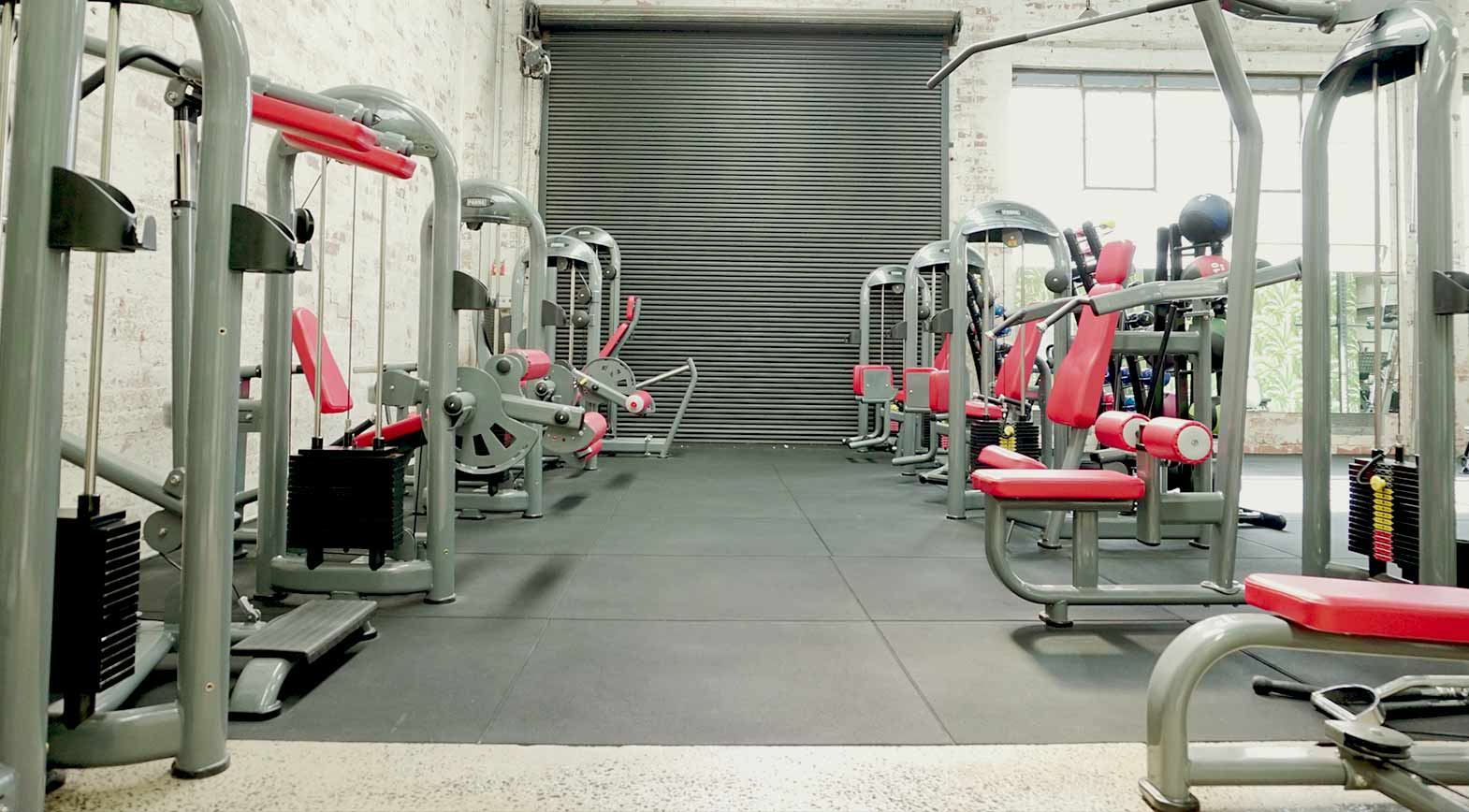 dukes gym richmond womens only machine weights pin loaded machines